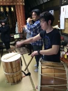 囃子練習2